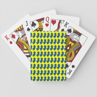 New Jersey Yellow & Blue Playing Cards