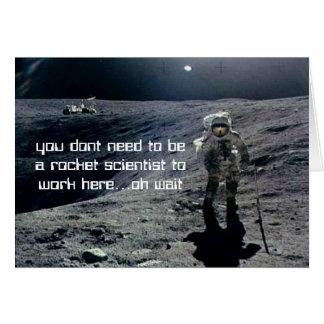 New Job Astronaut card