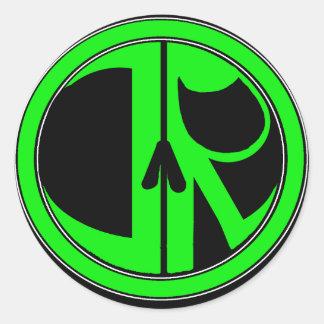 New Justice Reaper Logo Classic Round Sticker