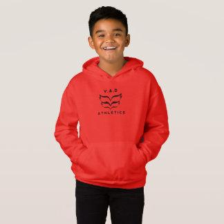 New Kids 2018 V.A.D Athletics Logo on warm hoodie