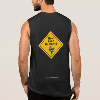 """New Knee On Board"" Total Knee Replacement T-Shirt"