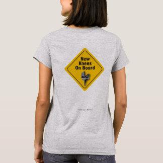 """New Knees On Board"" Bilateral TKR T-Shirt"