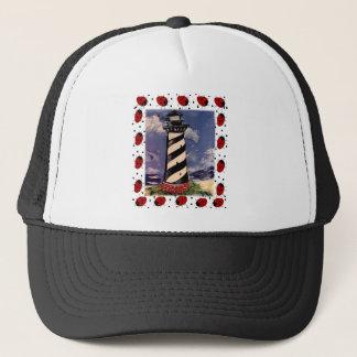 New Ladybug Lighthouse Trucker Hat