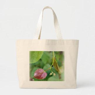 new leaf spring large tote bag
