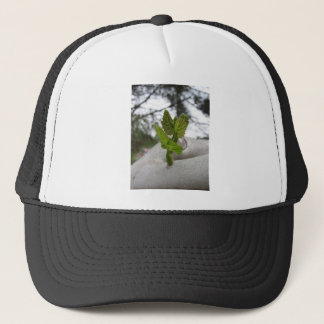 New life idea concept trucker hat