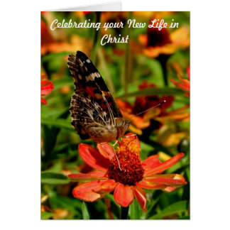 New life in Christ Card