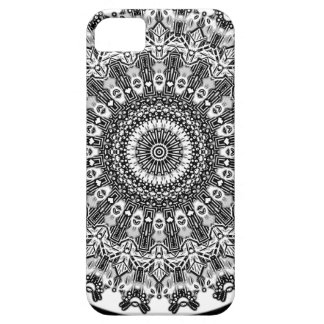 New Linear Black White Gray Kaleidoscope iPhone 5 Cover