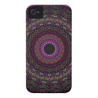 New Linear Raspberry Kaleidoscope iPhone 4 Case