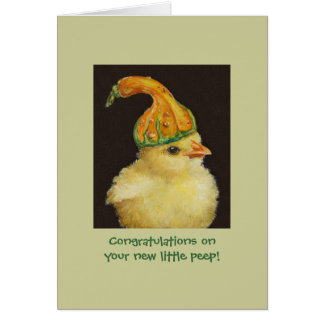 New little peep card