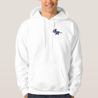New logo kart on back hoodie