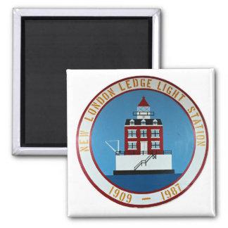 New London Ledge Lighthouse, Connecticut Magnet