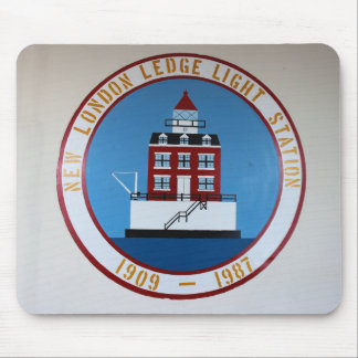 New London Ledge Lighthouse, Connecticut Mousepad