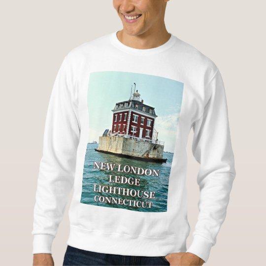 New London Ledge Lighthouse Connecticut Sweatshirt