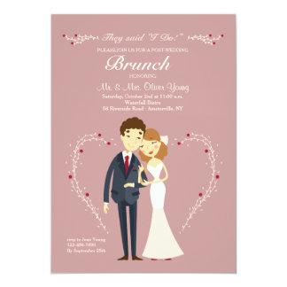New Love Post Wedding Brunch Invitation
