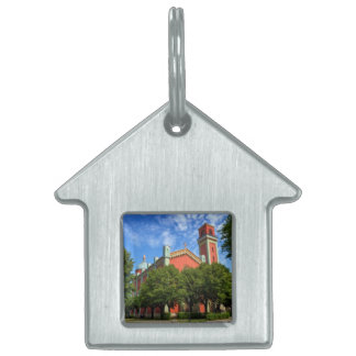 New Lutheran Church in Kezmarok, Slovakia Pet ID Tag