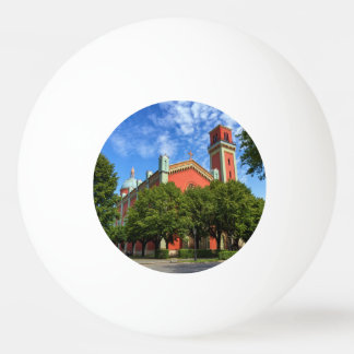 New Lutheran Church in Kezmarok, Slovakia Ping Pong Ball