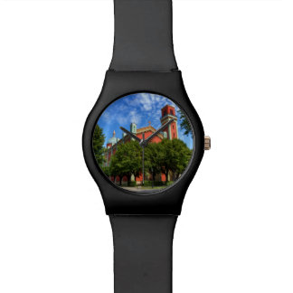 New Lutheran Church in Kezmarok, Slovakia Wrist Watch