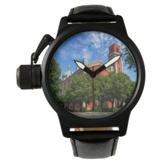 New Lutheran Church in Kezmarok, Slovakia Wristwatch