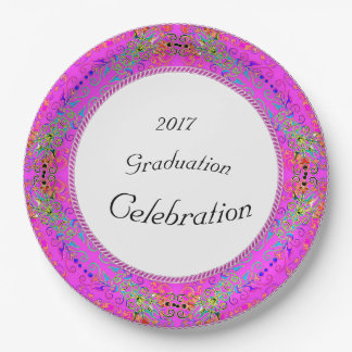NEW-Magical-Floral-Lace-FULL-TEMPLATE-CELEBRATION' 9 Inch Paper Plate