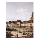 New Market Square in Dresden by Bernardo Bellotto Postcard