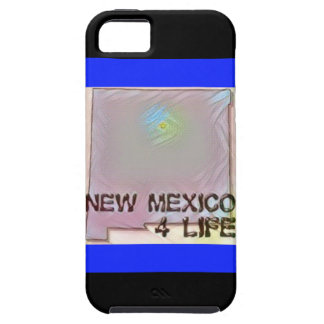 """""""New Mexico 4 Life"""" State Map Pride Design Case For The iPhone 5"""