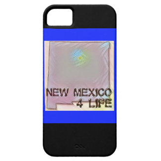 """""""New Mexico 4 Life"""" State Map Pride Design iPhone 5 Cover"""