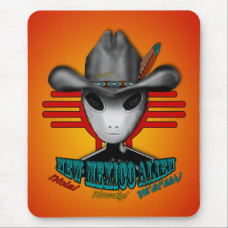 New Mexico Alien Mouse Pad