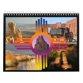 New Mexico (and Places West) Wall Calendar