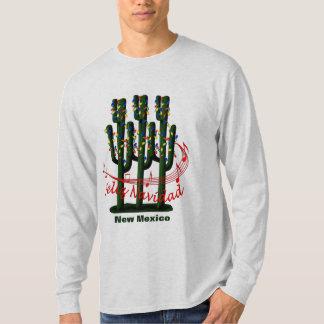 New Mexico Cactus Christmas Feliz Navidad T-shirt