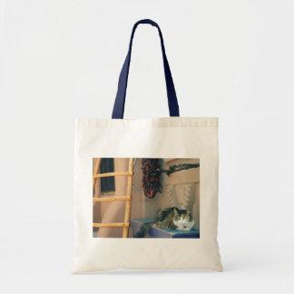 New Mexico Cat Budget Tote Bag