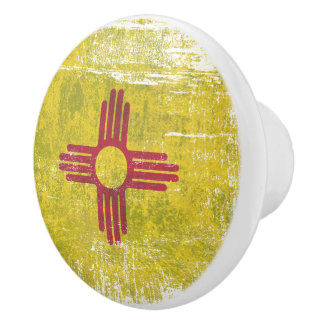 New Mexico Ceramic Knob