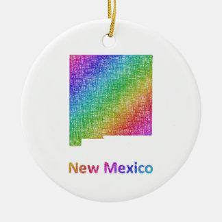 New Mexico Ceramic Ornament