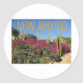 New Mexico Classic Round Sticker