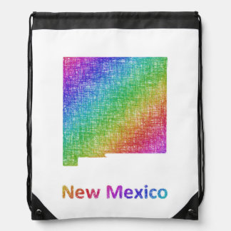 New Mexico Drawstring Bag