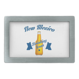 New Mexico Drinking team Belt Buckle