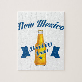 New Mexico Drinking team Jigsaw Puzzle