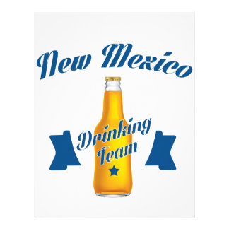 New Mexico Drinking team Letterhead