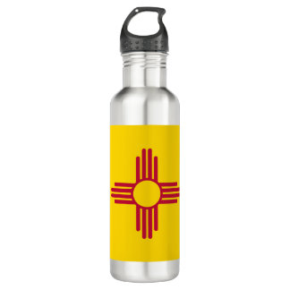 New Mexico Flag 710 Ml Water Bottle