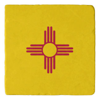 New Mexico flag, American state flag Trivet