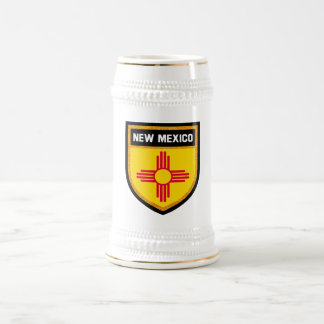 New Mexico Flag Beer Stein