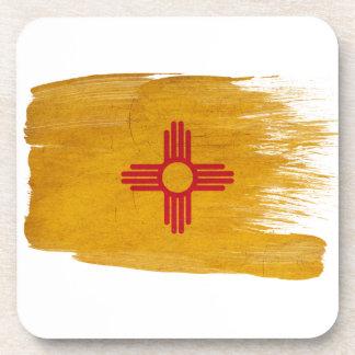 New Mexico Flag Beverage Coasters