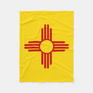 New Mexico Flag Blanket