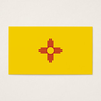 New Mexico Flag Business Card