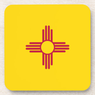 New Mexico Flag Coasters
