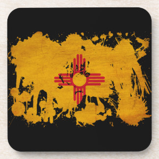 New Mexico Flag Drink Coasters