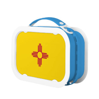 New Mexico Flag Lunch Box