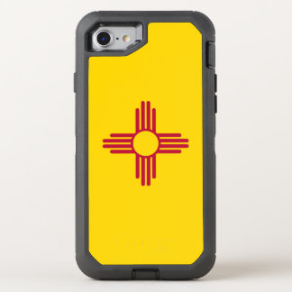 New Mexico Flag OtterBox Defender iPhone 8/7 Case