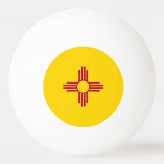 New Mexico Flag Ping-Pong Ball