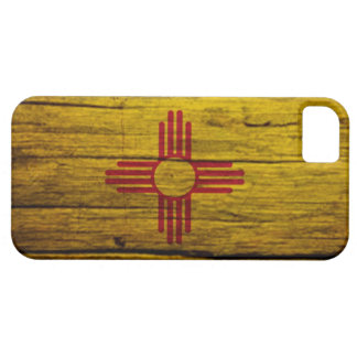 New Mexico flag rustic wood iPhone 5 Cover