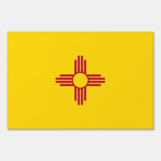 New Mexico Flag Sign